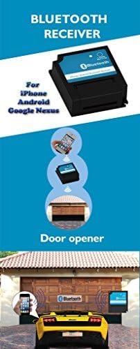 Compatible con Android y iOS sin llave bluetooth receptor para puerta corredera abridor y abridor de puerta de garaje.: Amazon.es: Informática