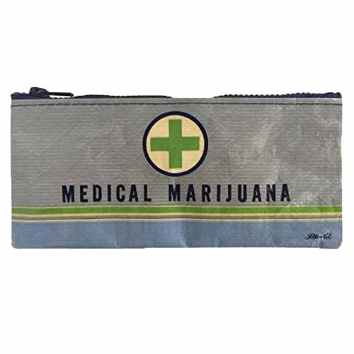 Blue Q Bags, Pencil Case, Medical Marijuana