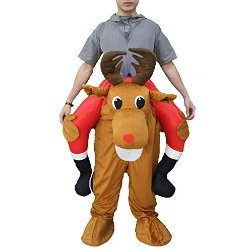 Mascot Costume Unisex Halloween Cosplay Novelty Ride On