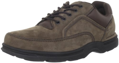Rockport Men's Eureka Shoe- Chocolate Nubuck-10.5  M - Oxford Mens Casual Shoes