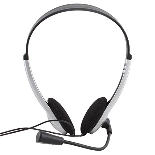 ZHUOTOP Headset Skype for PC Computer Laptop Earphone with mic Beautiful