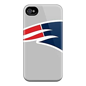 Hot MJv12293LDnR New England Patriots Tpu Cases Covers Compatible With Iphone 6