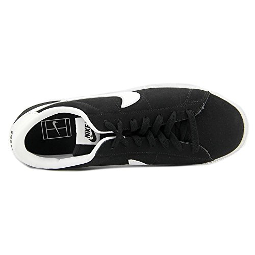 NIKE Men's Tennis Classic Leather Fashion Sneaker Black/White under $60 sale online outlet low price KEiHVXK