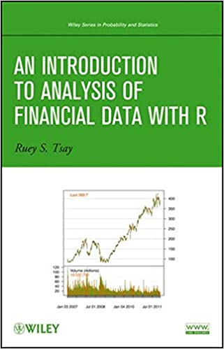 AmazonCom An Introduction To Analysis Of Financial Data With R