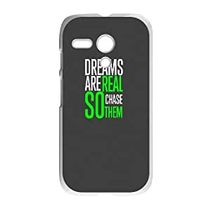 Motorola G Cell Phone Case White iOS7 color life quote1 G8W2EV