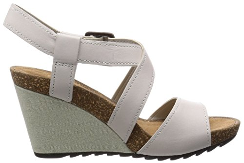 Clarks Women's Fashion Sandals White Avorio Avorio gZnbopgFK