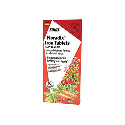 Salus-Haus - Floradix Iron Tablets - 80 count