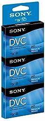 Sony DVM60PRR/3 60-Minute DVC Tape Hang ...