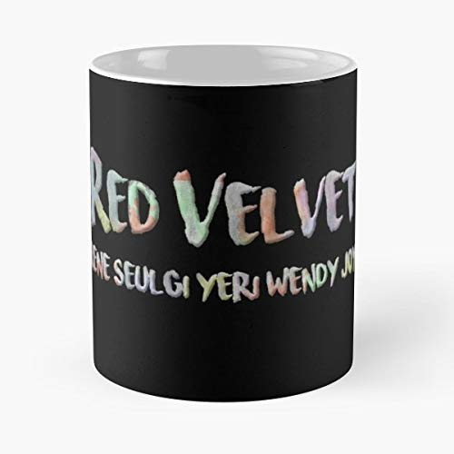 Red Velvet Black K Pop - Best Gift Coffee Mugs 11 Oz Father Day