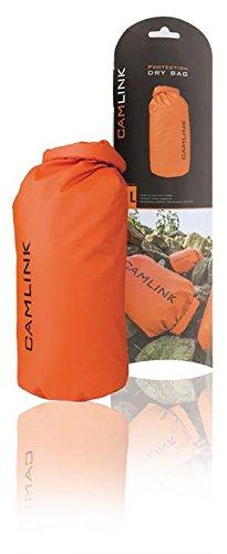 CamLink Outdoor Dry Bag Naranja/Negro 10 L, Mantenga Smartphone ...