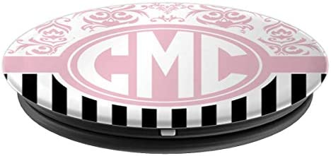Cmc Monogram Gift Pink Damask Initials Cmc Or Ccm Popsockets Grip And Stand For Phones And Tablets Amazon Com Au Electronics