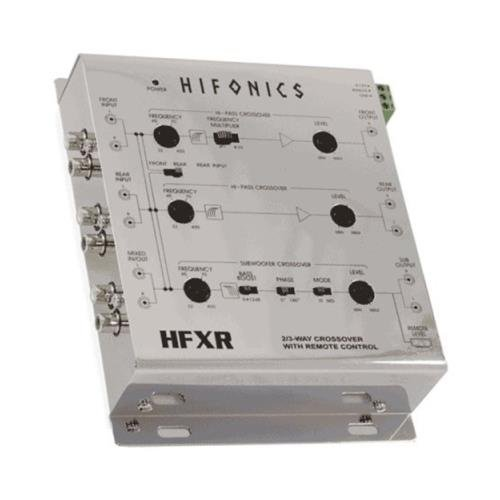 Hifonics Active Crossover Channel Control
