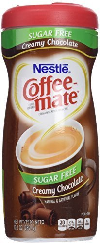 Coffee mate CREAMY CHOCOLATE POWDERED CREAMER