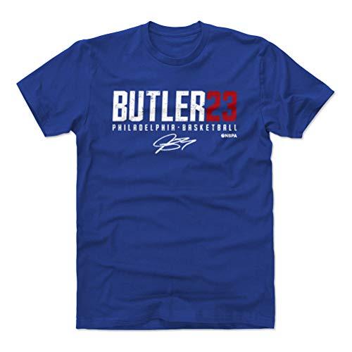 500 LEVEL Jimmy Butler Cotton Shirt (X-Large, Royal Blue) - Philadelphia Basketball Men's Apparel - Jimmy Butler Butler23 W WHT