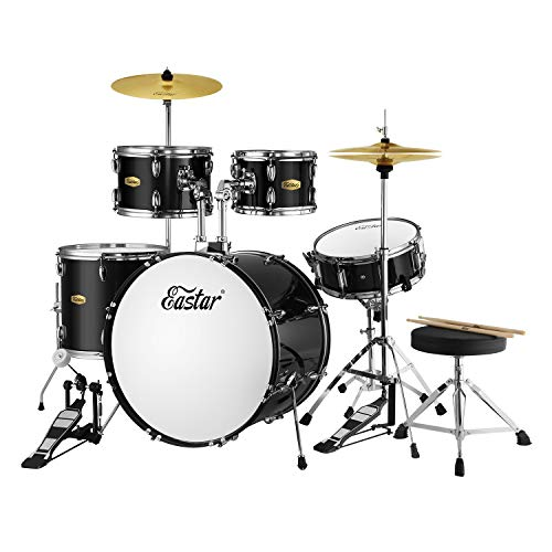 Eastar 22 inch Drum Set Kit Full Size for Adult