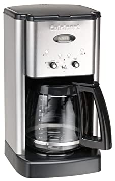 Cuisinart DCC-1200FR Brew Central 12-Cup Coffeemaker, Brushed Stainless Steel Renewed
