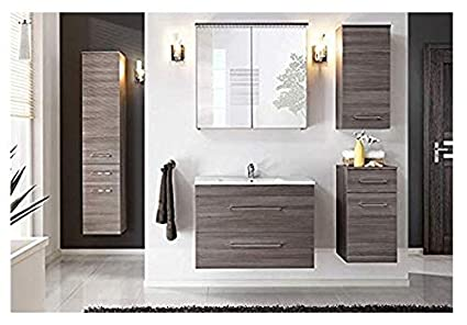 Mobile bagno doppio lavabo bagno completo pensile cm eur