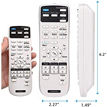 660 760HD OEM Epson Projector Remote Control Shipped with Epson Home Cinema 1060