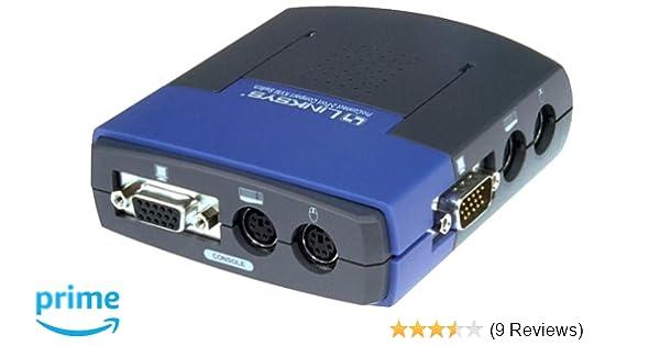 LINKSYS  PRO CONNECT  2 PORT  KVM SWITCH  COMPACT  VGA PS//2   PS2KVM2