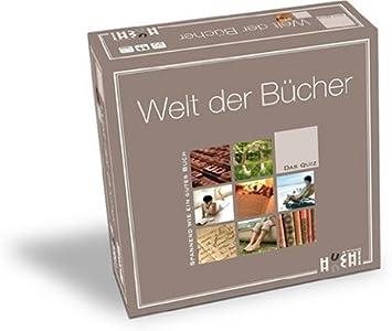 Huch & Friends 76614 Welt Der Bücher - Juego de Mesa (para Mayores de 16 años, de 2 a 6 Jugadores, Contenido en alemán): Amazon.es: Juguetes y juegos