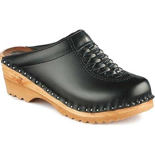 Troentorp Women's Båstad Wright Leather Clog