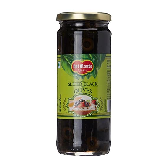 Del Monte Black Sliced Olives, 450g