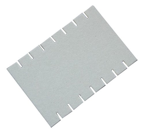 Jack Richeson Loom Card Wide Notch (Pack of 12), 4.00 x 6 4.00 x 6 Jack Richeson & Company Inc 787952