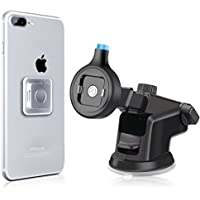 Matone Magnetic Car Mount Phone Holder, 360 Degree Rotatable Windshield Dashboard Universal Car Mobile Phone Stand, [Easy Mount & Quick Release] for iPhone Samsung Galaxy LG Smartphones Tablet