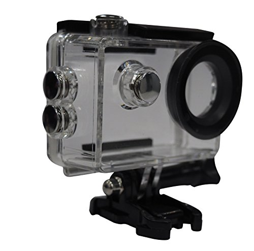 REMALI Action Camera Waterproof Case Round