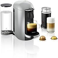 Breville Nespresso VertuoPlus Deluxe Coffee and Espresso Machine Bundle