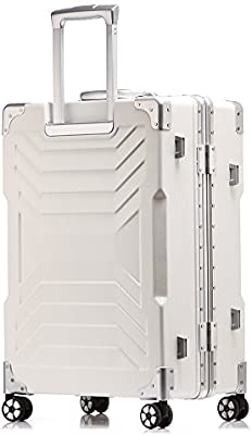 f3dc6279ceaa Aluminum frame and PC shell Anti-scratch trolley luggage 20