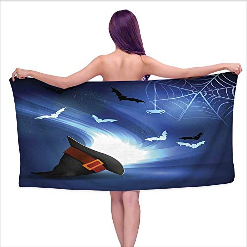 Tankcsard Sports Towel Halloween Party Bright Picture 6,W31 xL63 for Kids Mickey Mouse