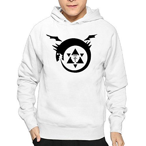 Lightweight 80S Juniors Mans Full Metal Alchemist Large Sweatshirts