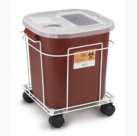 Medegen Medical Products LLC McKesson Brand Sharps Container Cart - 8790EA - 1 Each / Each