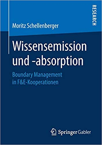 Torrent Descargar Español Wissensemission Und -absorption: Boundary Management In F&e-kooperationen PDF Mega