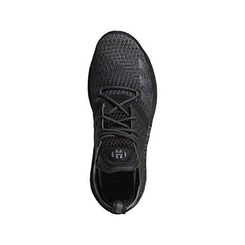 Adidas Harden Vol. 2 Scarpe Da Incubo Mens Basket Core Nero-grigio-ferro Metallizzato