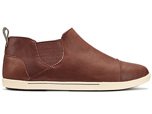 OluKai Womens Waipahe Ankle Boot (10 - Friar Brown/Friar Brown) by OluKai