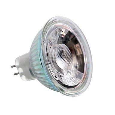 5W GU5.3 LED Spotlight MR16 1 COB 380-400 lm Warm White/Cool White DC/AC 12 V 6 pcs , 12v