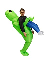 Inflatable Alien Costume Halloween Costume for Adults Or Child Inflatable Costumes Grim Reaper Ghost Pick Me Up Cosplay