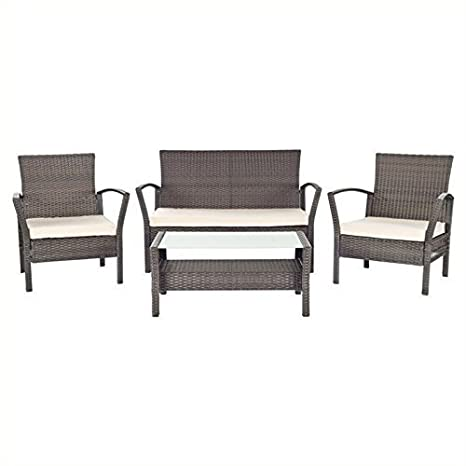 Amazon.com: Safavieh Patio Collection Avaron Living ...