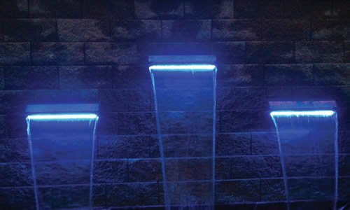 EasyPro Pond Products Underwater LED Light Strip Waterfall Spillway Light, 23