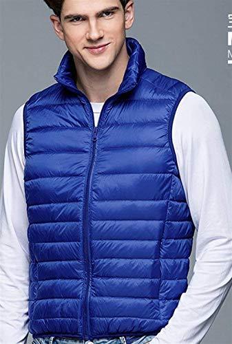 Down Sans Gilets K Jacket Gilet D Ultralight Automne Nne Manches En Matelassé Hiver Bodywarmer Hommes Duvet Essentiel nigsblau Air Plein Packable Mitten RqFqz0tx