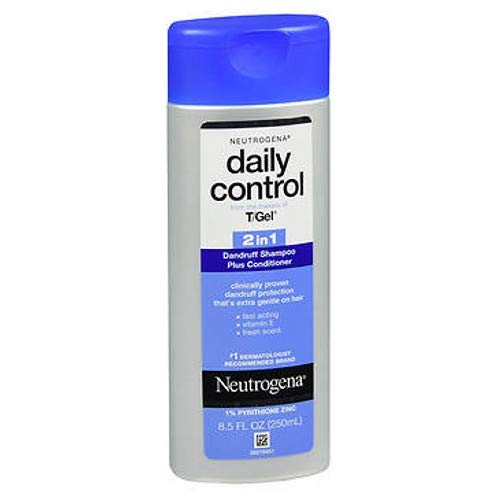 Neutrogena Daily Control 2 In 1 Dandruff Shampoo Plus Conditioner 8.50 oz (Pack of 2)