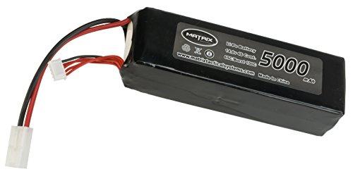 Evike Matrix 14.8V 5000 mAh 65C Purpose Built LiPo (Lithium Polymer) Battery - Large Tamiya