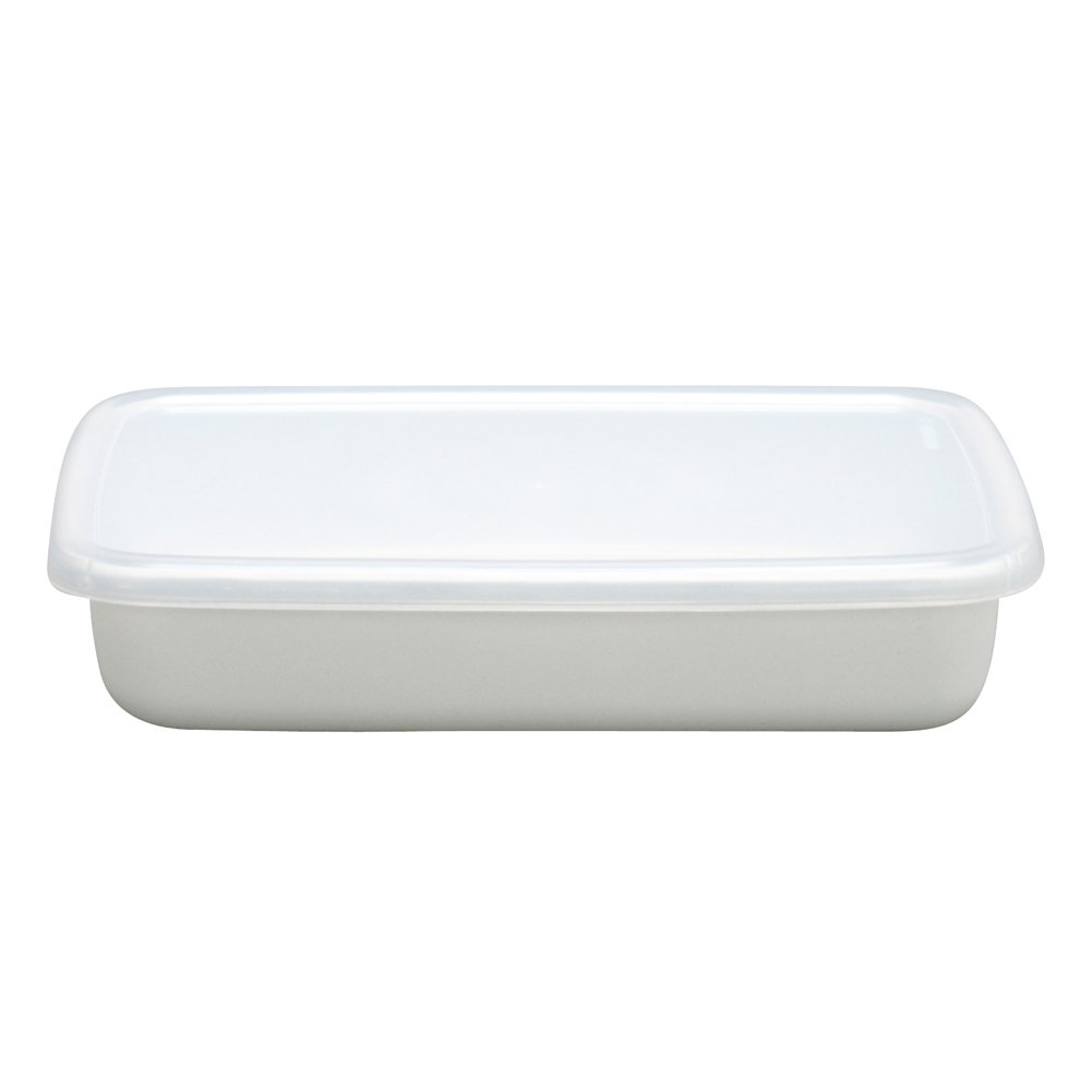 Food Storage Enamel Container 0.8 L made in Japan