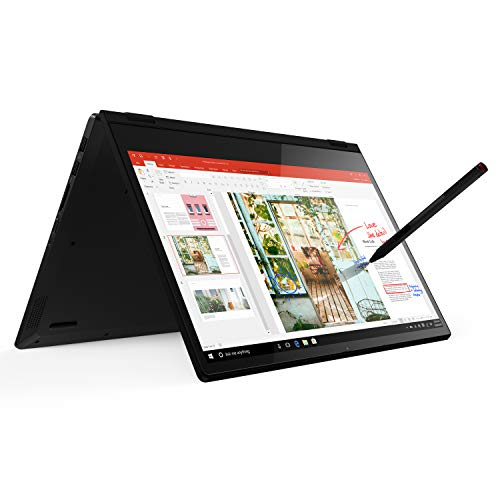 Lenovo Flex 14 2-in-1 Convertible Laptop, 14 Inch FHD Touchscreen Display, AMD Ryzen 5 3500U Processor, 12GB DDR4 RAM, 256GB NVMe SSD, Windows 10, 81SS000DUS, Black, Pen Included