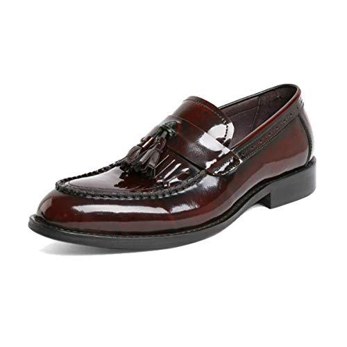 Perezosos Hombres Cuero Broch Transpirable De red Caucho Xycszq Zapatos brown Negocios 37 Cómodo w4dnqxtXF
