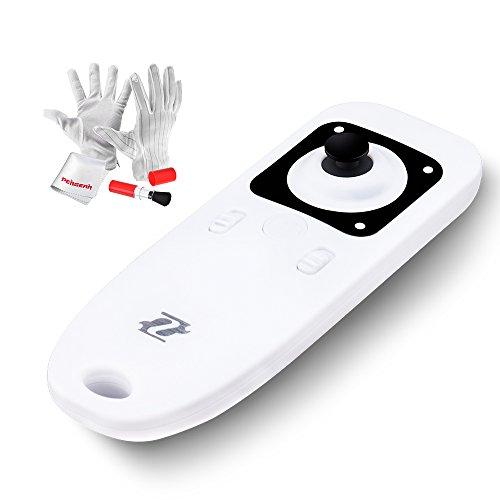 Zhiyun Wireless Remote Controller with Pergear Clean Kit for Zhiyun Crane Zhiyun Shining 3 Axis Brushless Handheld Gimbal Stabilizer Zhiyun Smoth-II Stabilizer