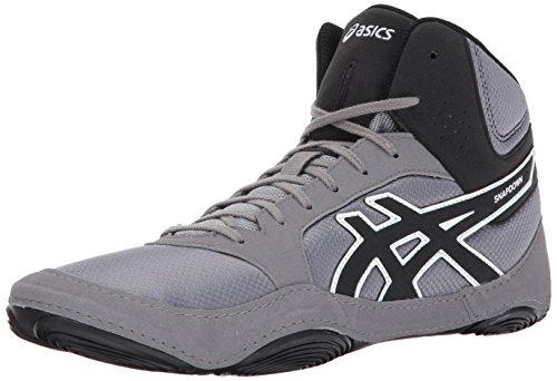 Precio más bajo Snapdown Zapato 2 Lucha Libre Asics De Los Hombres Negro / Aluminio / Blanco Bajo costo de envío La mayor oferta de proveedores en línea Descuento particular Entrega rápida barata So7s37
