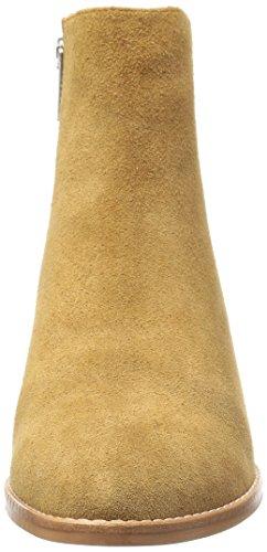 Sol Sana Women's Miles Boot Ankle Bootie Cognac Suede rmxlhfNJ